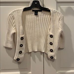 Marc Jacobs cropped cardigan open knit top short